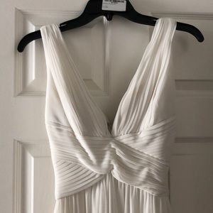 White, flowy dress - event or wedding